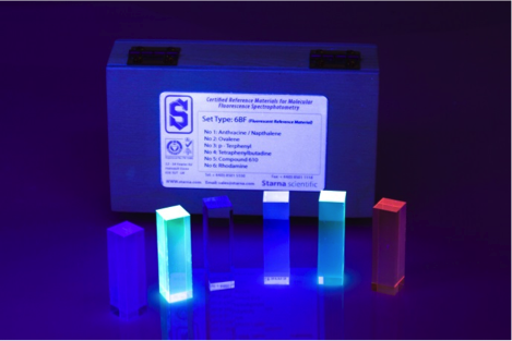 Broadband Fluorescent Wavelength Reference - 6BF Set